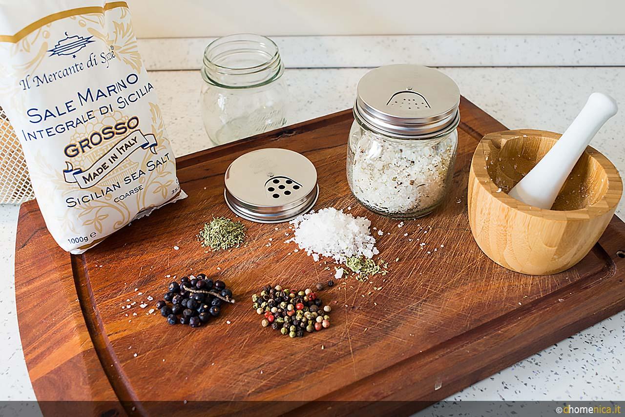 Il sale aromatizzato dalla preparazione alla tavola i il blog di - Bagno con sale grosso ...