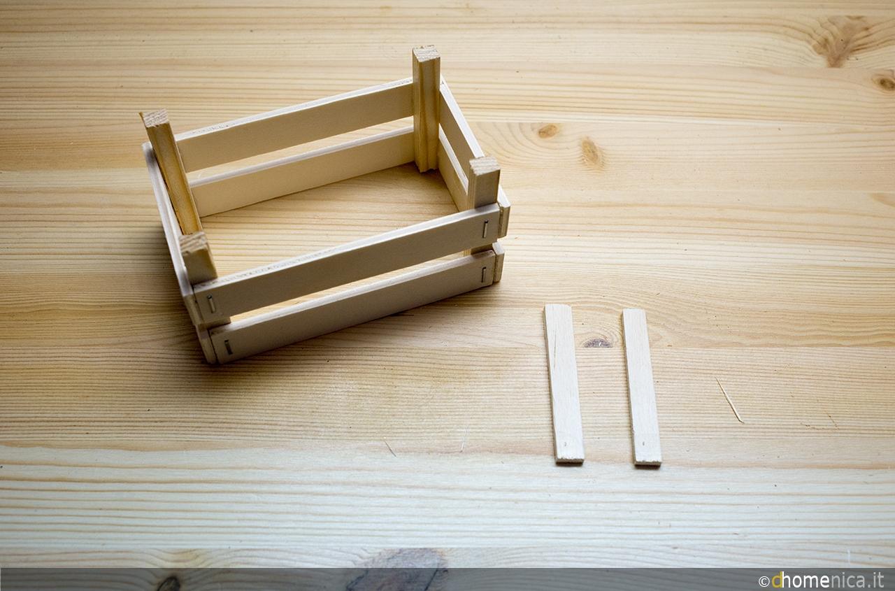 Tutorial come costruire una cassettina in legno il blog di - Come costruire una casa in miniatura ...