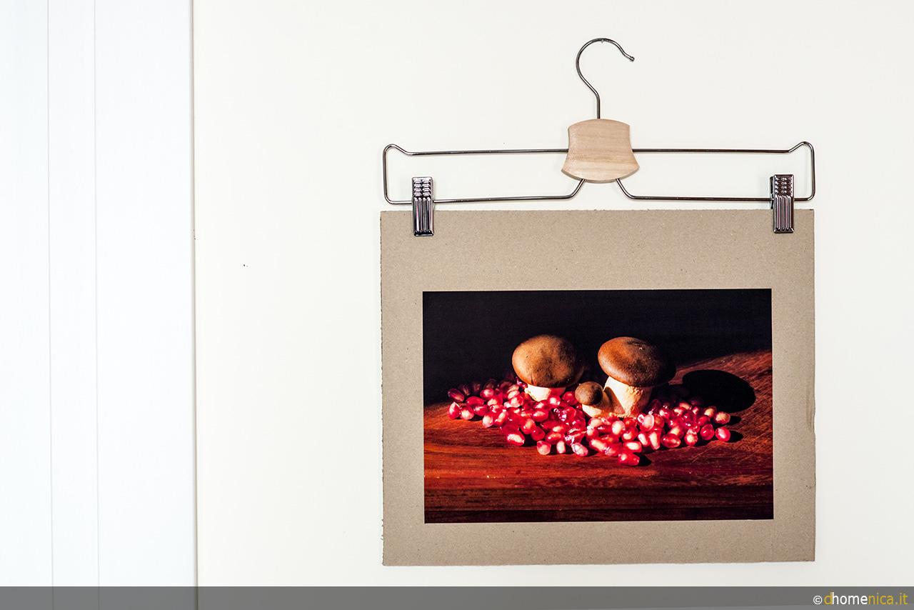 Realizzare un portafoto da parete colore e creativit - Portafoto da parete ikea ...